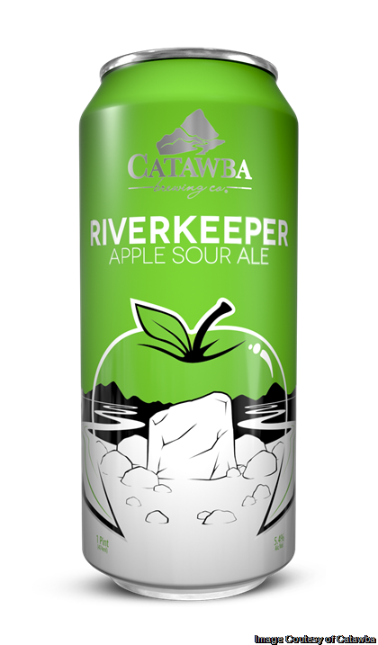 Catawba Brewing & Bold Rock Hard Cider Partner on Limited Release Riverkeeper Apple Sour Ale