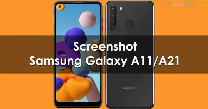 Screenshot Samsung Galaxy A21 dan A11