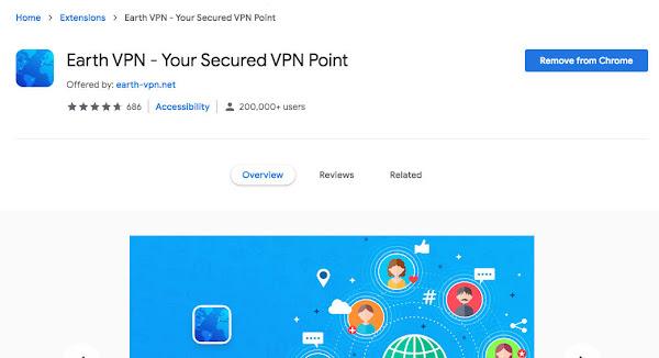 Earth VPN - Your Secured VPN Point