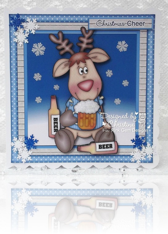 Beer drinking Reindeer