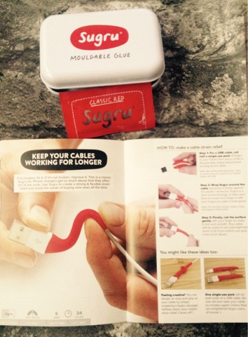 Sugru Starter Kit - help keep your iphone cables working longer