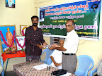 Dr.R.Mahalingam receiving the Momento from AKN.Perumal :: Date: May 14, 2007, 11:11 AMNumber of Comments on Photo:0View Photo