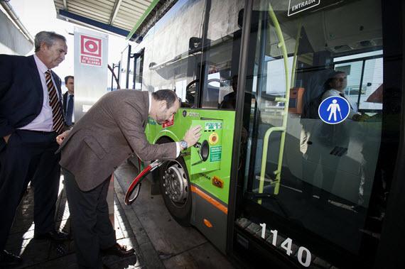 El GNC en la flota de autobuses del CRTM
