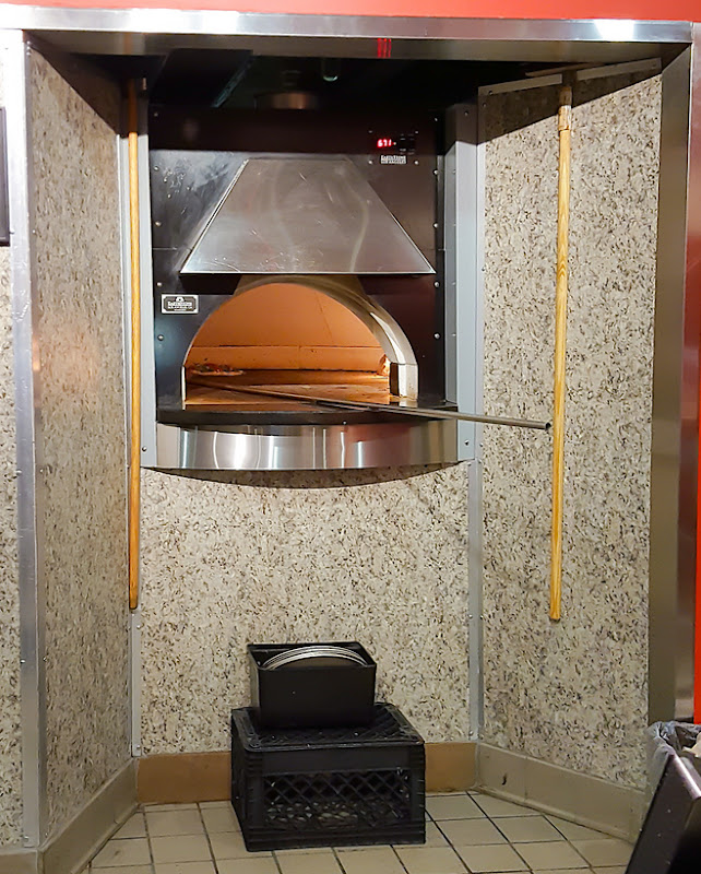 photo of the pizza oven