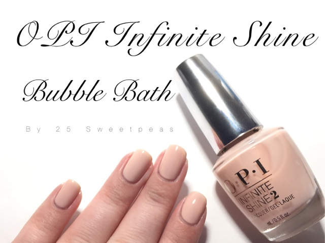 OPI Infinite Shine : Bubble Bath - 25 Sweetpeas