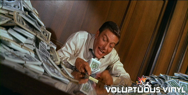 Dick Van Dyke Counting Pile of Money