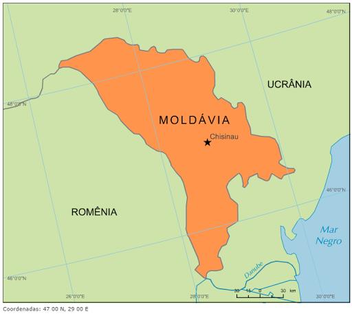 mapa da moldavia Blog de Geografia: Mapa da Moldávia mapa da moldavia
