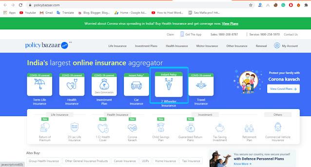 Policy Bazaar Insurance