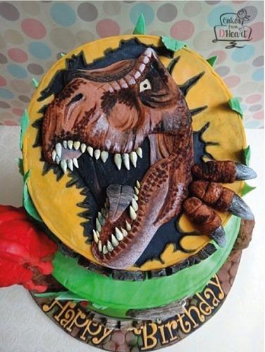 pastel de dinosaurios - 19