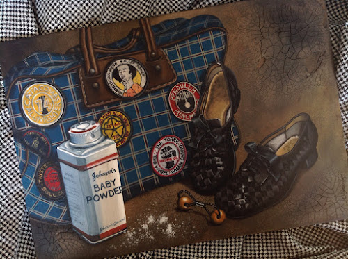 She'll be Gone - Betty O'Brien, Nikki Morris Northern Soul Art