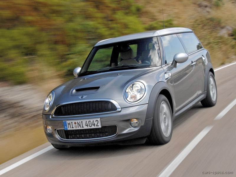 2009 mini cooper clubman hatchback specifications pictures prices. Black Bedroom Furniture Sets. Home Design Ideas