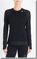 Sweaty Betty wool blend run top