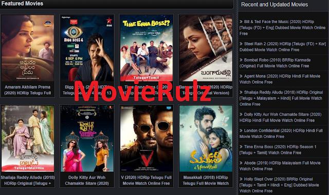 Movierulz 2021: Watch Movies Online Free