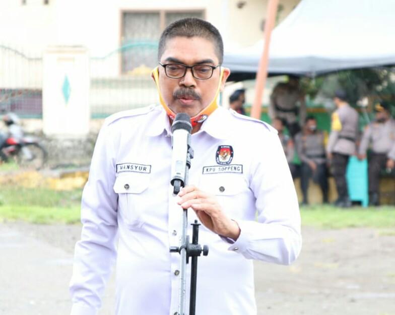 Sekretaris KPU Soppeng Drs. Mansyur, M. Si : Ini Jumlah Logistik Pilkada Soppeng 2020