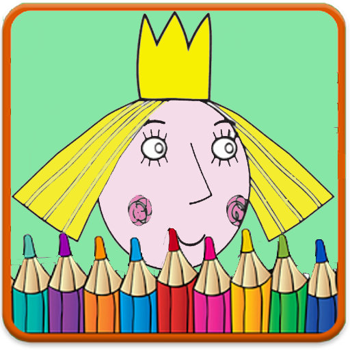 ben and holly's coloring book