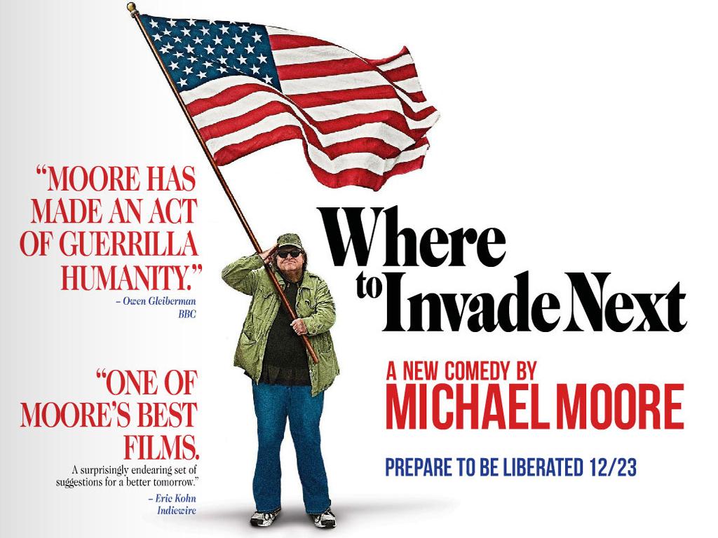 Πού να κάνετε την επόμενη εισβολή (Where to Invade Next) Wallpaper