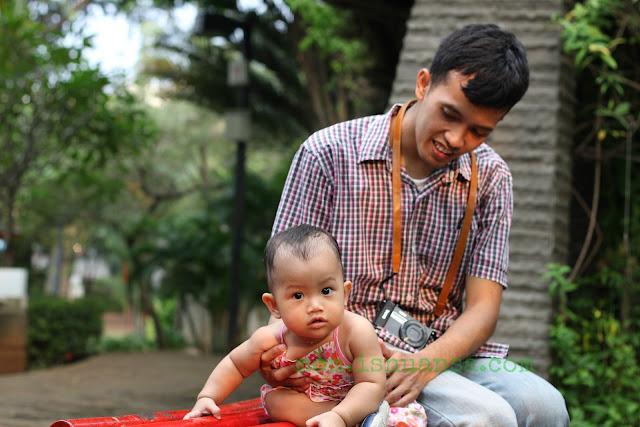 Bayi di Taman Ayodya