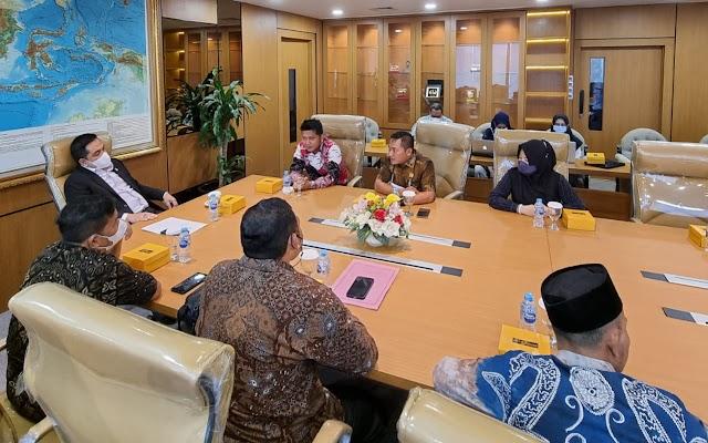 Menuju Pemekaran, Komisi III DPRD Kotabaru Datangi Kemendagri