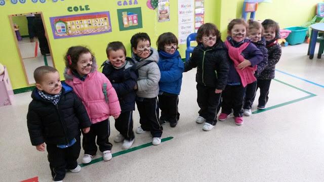 Infantil celebra el Carnaval