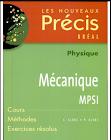 Livres Précis de Physique Mécanique MPSI PDF
