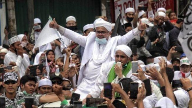 Pengaruh Habib Rizieq Makin Besar di Pilpres 2024 Meski Dipenjara: Massa Tunggu Perintah