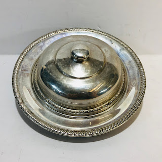 Sterling Silver Covered Dish