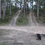 Small hill near campsite