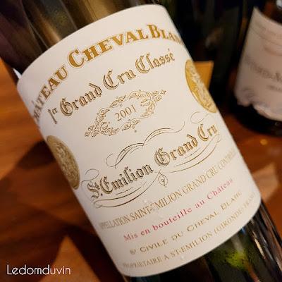 Chateau Cheval Blanc Saint-Emilion 2001  by ©LeDomduVin 2021