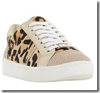 Dune Leopard Laceup Trainers