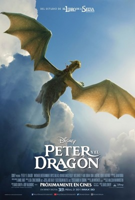 Poster Peter y el dragon