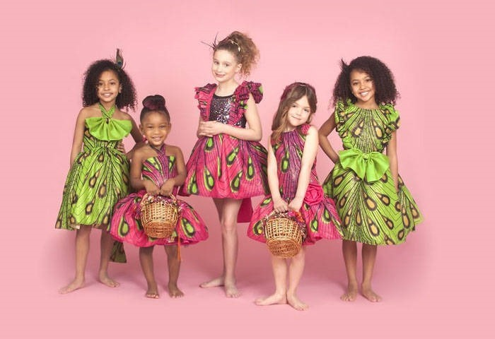 ankara clothing for children  (2)