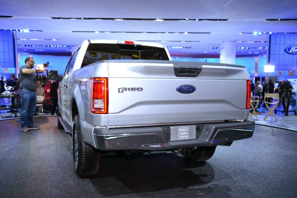 2015 Ford F-150 Unveiling NAIAS 13