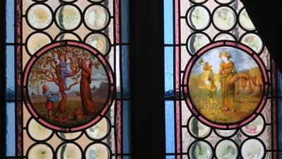 Painted Glass Windows