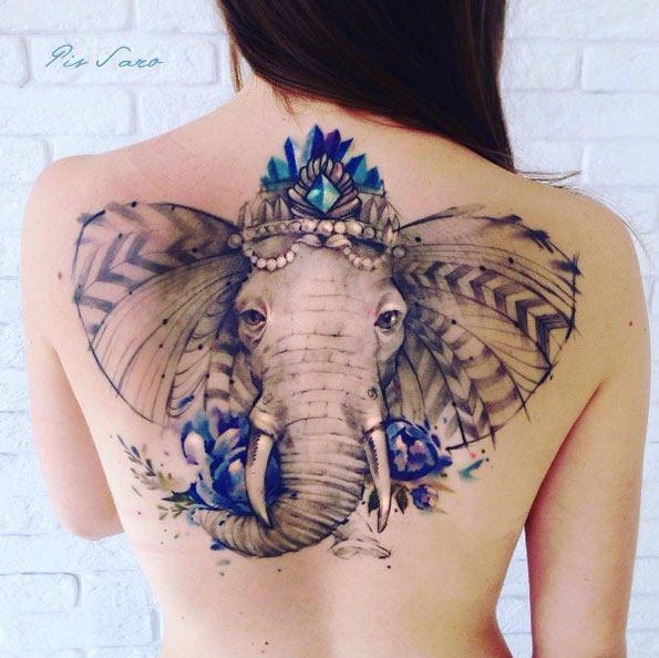 a_aquarela_elefante