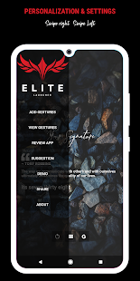 Elite Launcher - Clean, Minimal Home Screen Screenshot