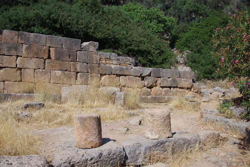 Temple d'Esculape à Lissos (Λισσός).