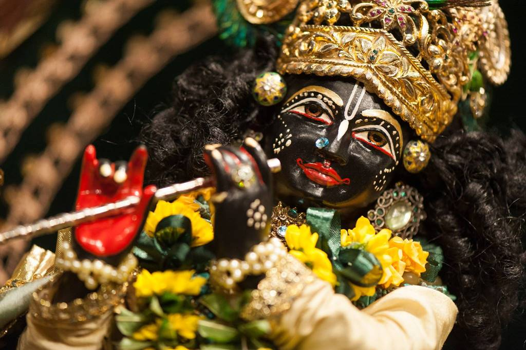 ISKCON Goloka Dhama, Germany Deity Darshan 31 Jan 2016 (2)