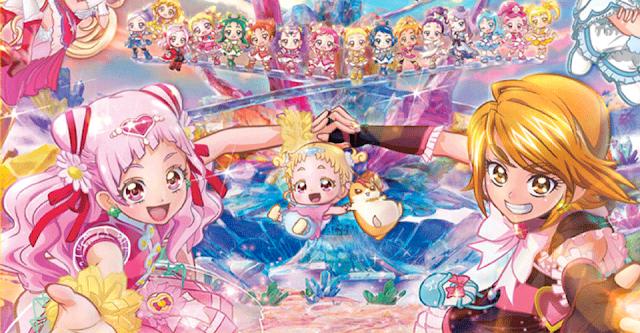 Pretty Cure: All Stars Memories es un crossover récord de nivel final de los Vengadores