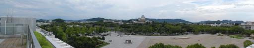 vue panoramique 180 degre chateau de himeji
