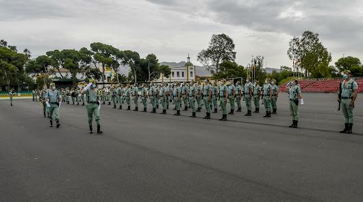 La Legión celebra San Fernando, patrón de los ingenieros