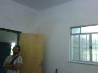 Nova porta do quarto 1 (sem banheiro) - fase final - 05/09/2011