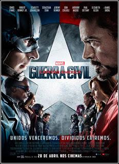 Capitão América 3 Guerra Civil (2016) Torrent WEB-Rip 1080p + Legendas