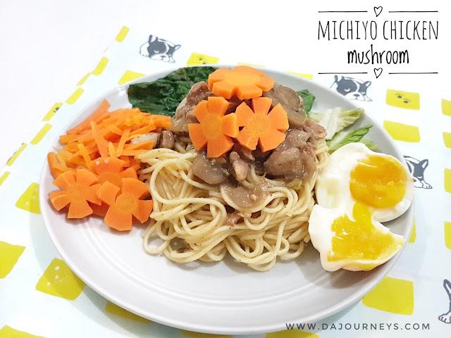 Review Michiyo Ramen Chicken Mushroom