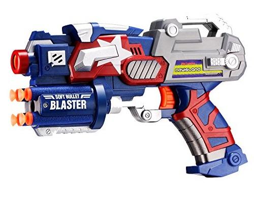 Súng đồ chơi Soft Bullet Blaster bằng nhựa