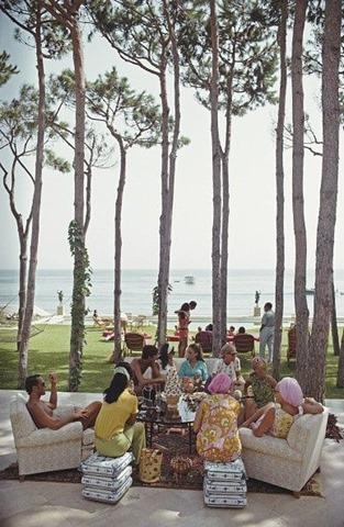 Marbella. 1967 Slim Aarons