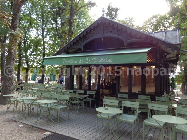 Paris jardin du luxembourg le pavillon de la fontaine - Le jardin gourmand luxembourg ...