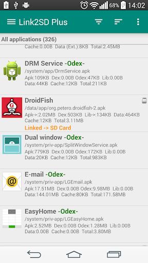 Link2SD screenshot 1