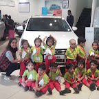 Field Trip to Car Showroom by Playgroup Evening Section at Witty World, Chikoowadi (2018-19)