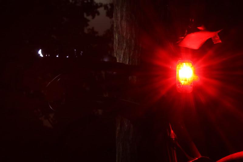 Foto, Rotlicht montiert, kleinste Leuchtstufe