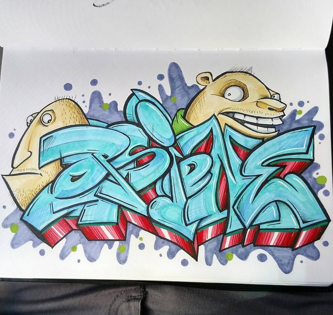 dibujos-lapiz-graffitis409